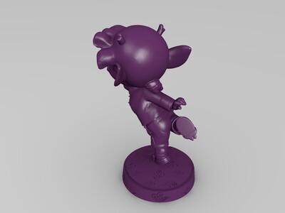 龙女-3d打印模型