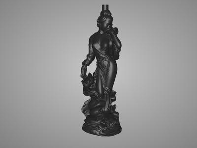 菩萨(佛)4个-3d打印模型