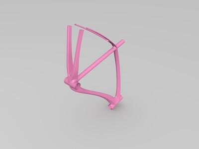 碳纤维公路自行车架 STEP&STL-3d打印模型