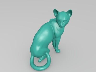 家猫模型-3d打印模型