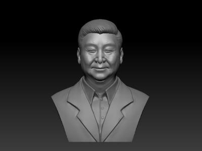 习近平-习大大-3d打印模型