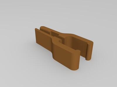 1.75线材清洁过滤器-3d打印模型