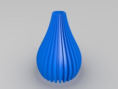 908高精度花瓶1-3d打印模型