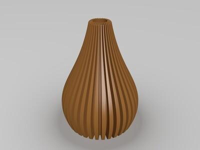 908高精度花瓶2-3d打印模型