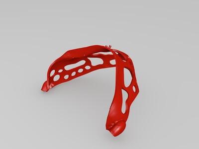粒子植入导板-3d打印模型