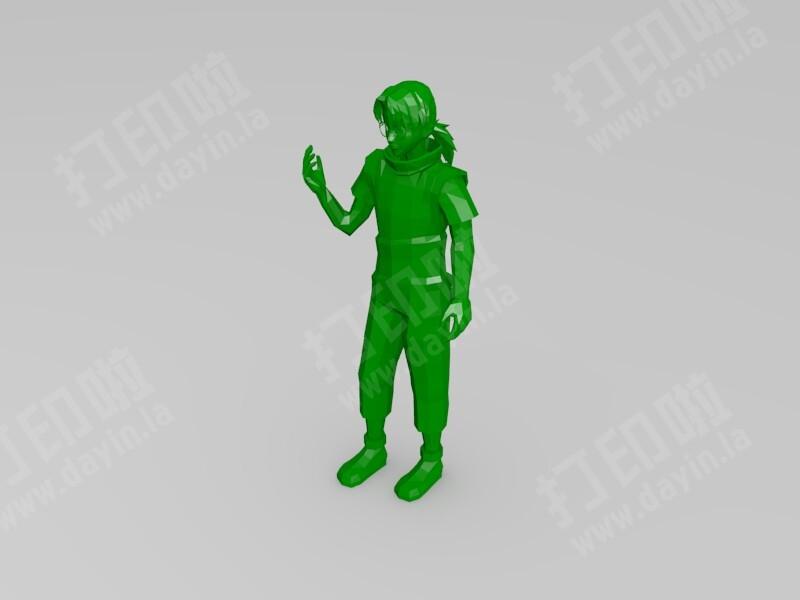 火影忍者-药师兜-3d打印模型