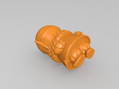 龙珠——皮拉夫大王-3d打印模型
