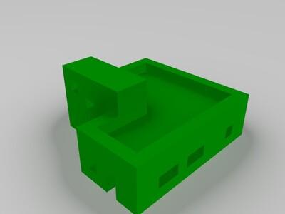 阳台小屋-3d打印模型