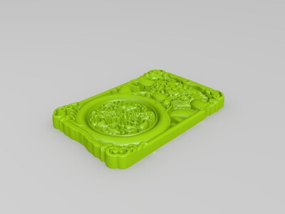 玉雕-龙-3d打印模型