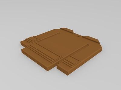 卡通球服-3d打印模型