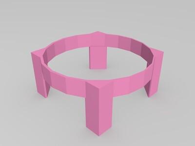 篮球架子-3d打印模型