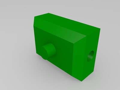 领带挂架-3d打印模型
