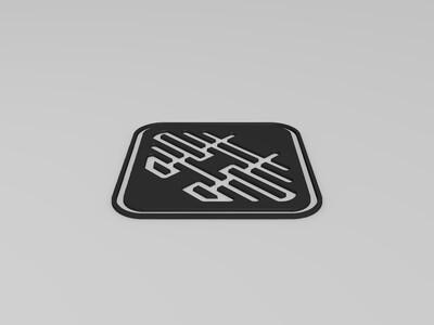 中国风剪纸艺术-打包五喜 2-3d打印模型