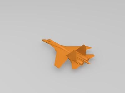 苏-35战机(第一版)-3d打印模型