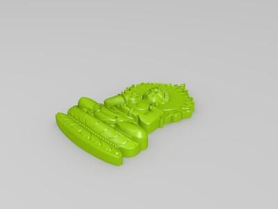 玉雕-菩萨-3d打印模型