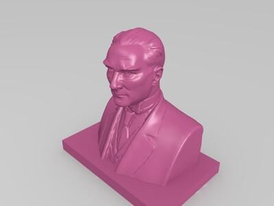 卡恩雕塑-3d打印模型