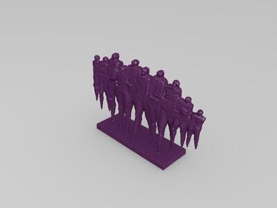 力士-3d打印模型