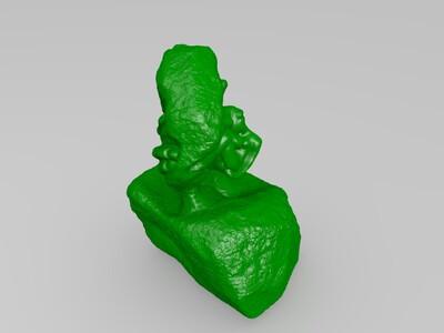 罗丹  上帝之手-3d打印模型