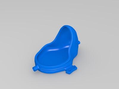 卢浮宫 杜尚小便池-3d打印模型