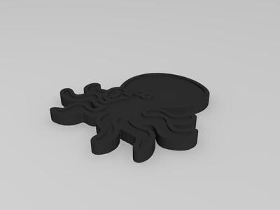 章鱼-3d打印模型