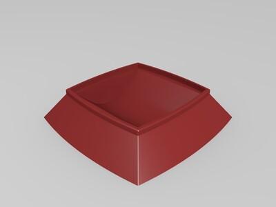 垃圾桶底座-3d打印模型