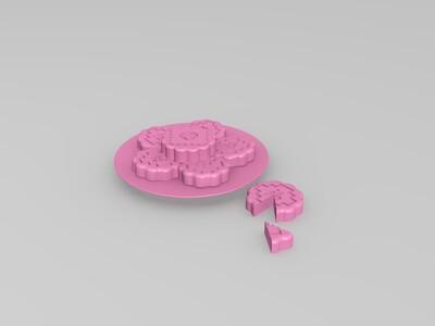 中秋快乐-3d打印模型