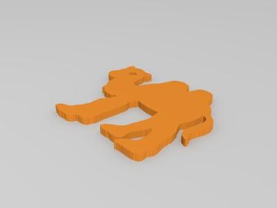 骆驼-3d打印模型