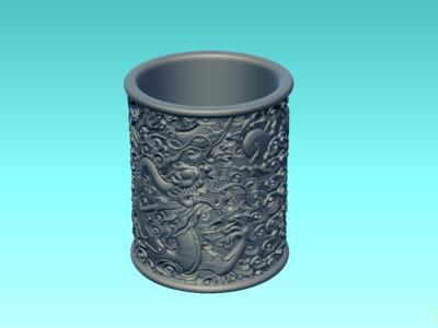 拉花-3d打印模型