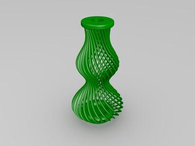 镂空花瓶-3d打印模型