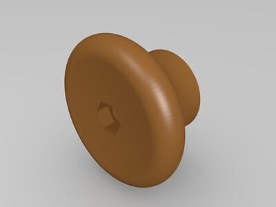 锅盖帽-3d打印模型