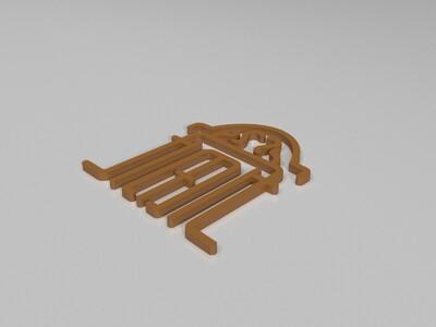 石库门-3d打印模型