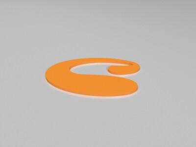 logo-3d打印模型