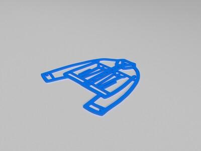 3D G Jacket-3d打印模型