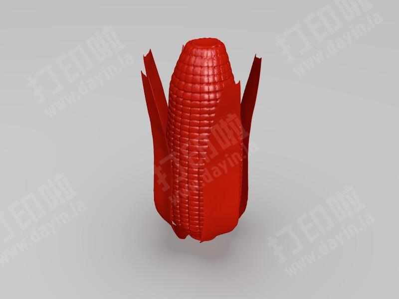 一个玉米-3d打印模型