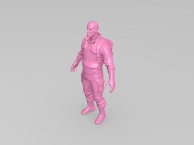 阿米尔汗(米叔)-3d打印模型