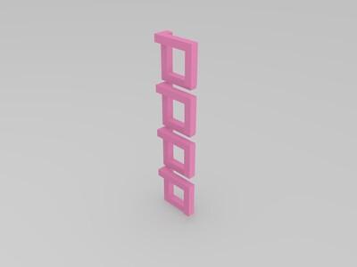 魔金-3d打印模型