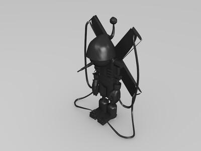 数码宝贝木偶兽-3d打印模型