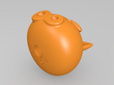 拼装猪猪侠-3d打印模型