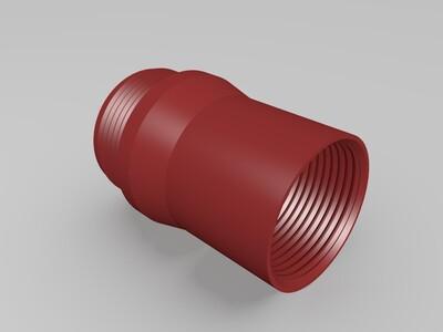 可调节高倍镜(高倍率)-3d打印模型