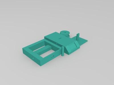 迷你3d打印机{拼装}-3d打印模型