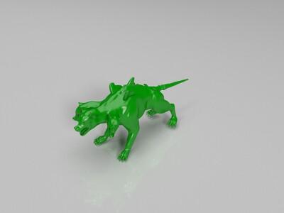 地狱三头犬-3d打印模型