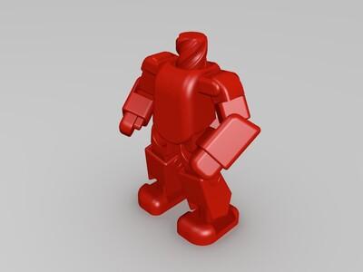 可替换身体之T800-3d打印模型