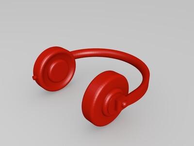 耳机-3d打印模型