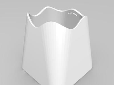 分体花瓶-3d打印模型