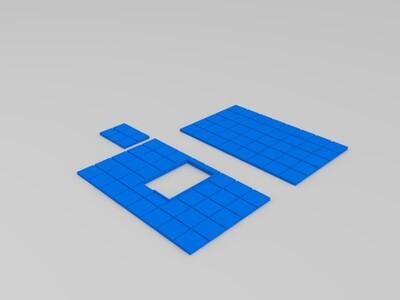 洋房-3d打印模型