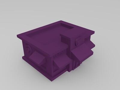 阳光咖啡馆-3d打印模型