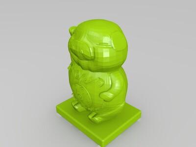 福猪-3d打印模型