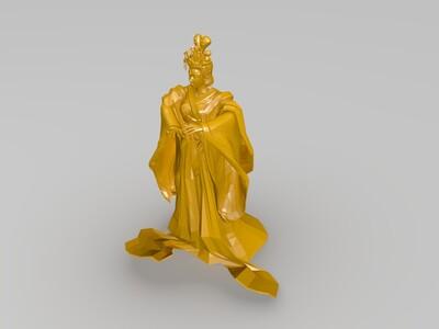 则天女皇(武则天)-3d打印模型