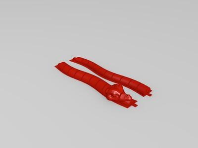 蛇镯-3d打印模型