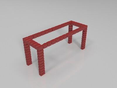 stone框架打印-3d打印模型